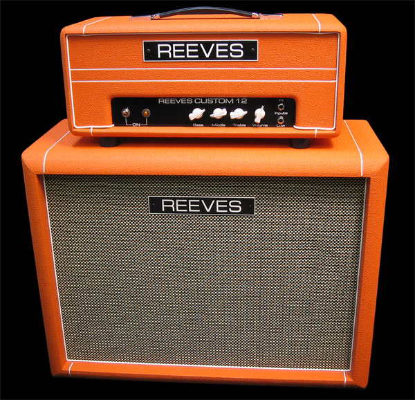 custom 12 reeves amplification. Black Bedroom Furniture Sets. Home Design Ideas